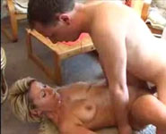 Mature mommy hardfucked by mad son