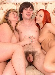Mother joining son and his wife in mind blowing action