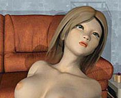 Le garçon chanceux a la chance de tester l'étroitesse de la fente de sa soeur aux gros seins