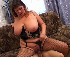 Two horny brothers fuck their sexy mother on her birthday