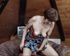 Vanilla-skinned oldie with massive ass withstands a hardcore incest fucking