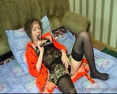 Eager milf with absolutely blameless body lets her son enjoy her juicy pink
