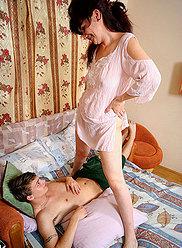 HOME INCEST ORGIES - Incest porn pictures #7