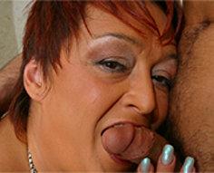 18yo son got seduced by fat mom in black nylons