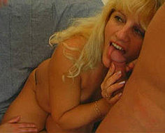 Mom and girl creamed