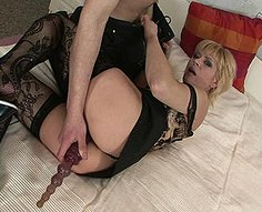 eenage son fucks his mother's pussy real hard