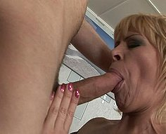 Teenage son fucks his mother's pussy real hard