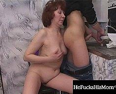 He Fucks his mom - Mom Son Incest movies #5