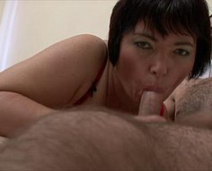 Part1.Sexy brunette mother fucked by her own son