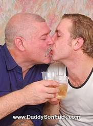 Nasty queer papa gets his lovely son drunk and gets into his pants