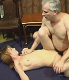Teeny fucks up her incest-loving dad's evening and gets drilled for that