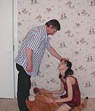 Le pre ivre veut baiser sa propre fille