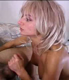 Naughty mature blonde facefucked and screwed raw by her big hard son