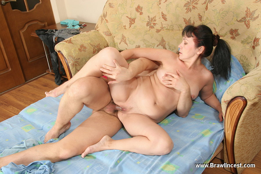 Amateur mother fucks her young lover 8