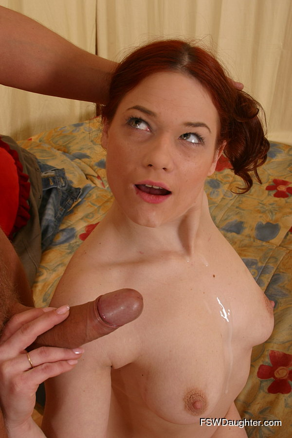 Yummy Teenage Redhead Gets Her Cherry Ass Popped By Her -4658