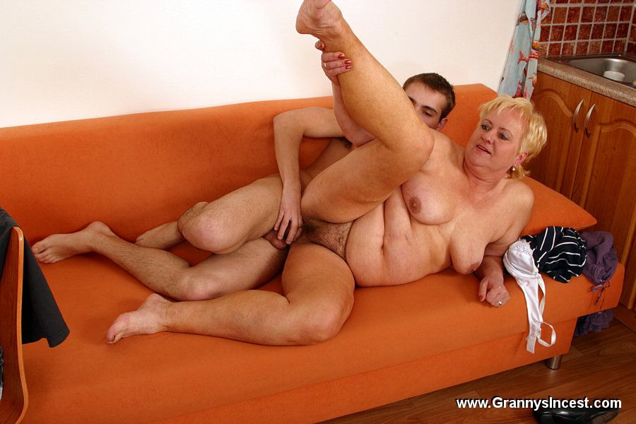 Grandma fucking with young boy 2 6