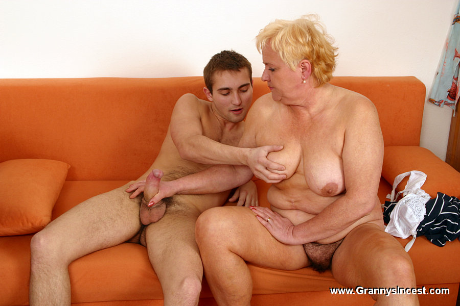 Old grannies with young men — img 10