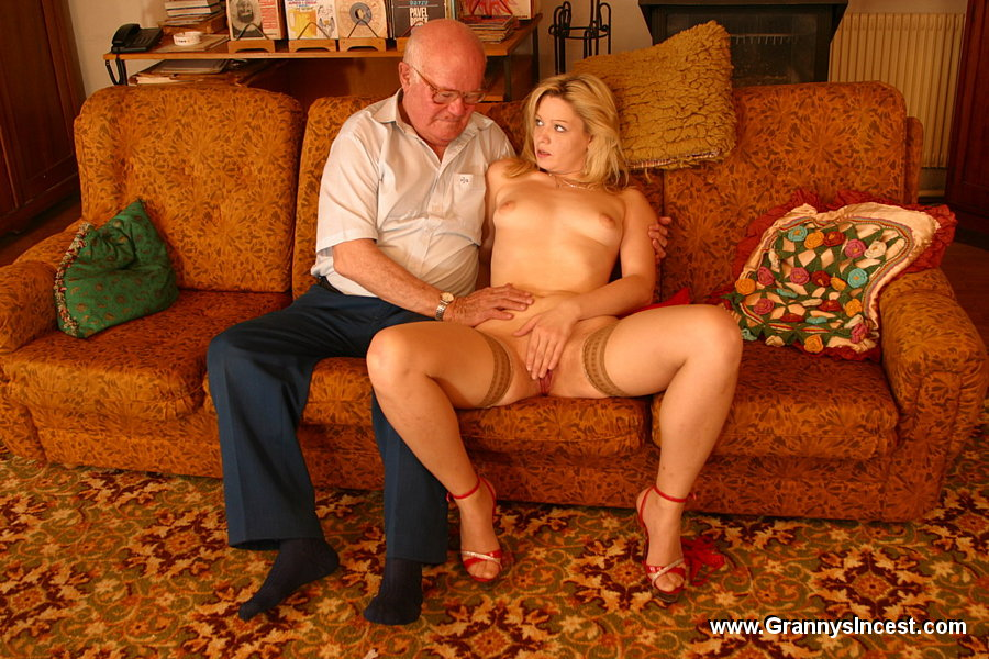 Blonde granny jumps on young cock 2