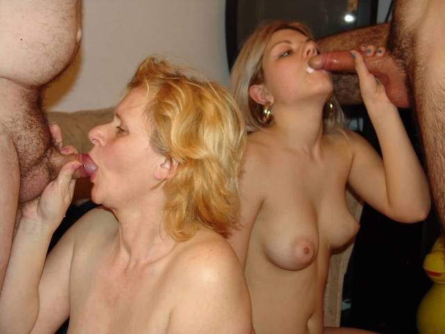 nude latina mother and daughters
