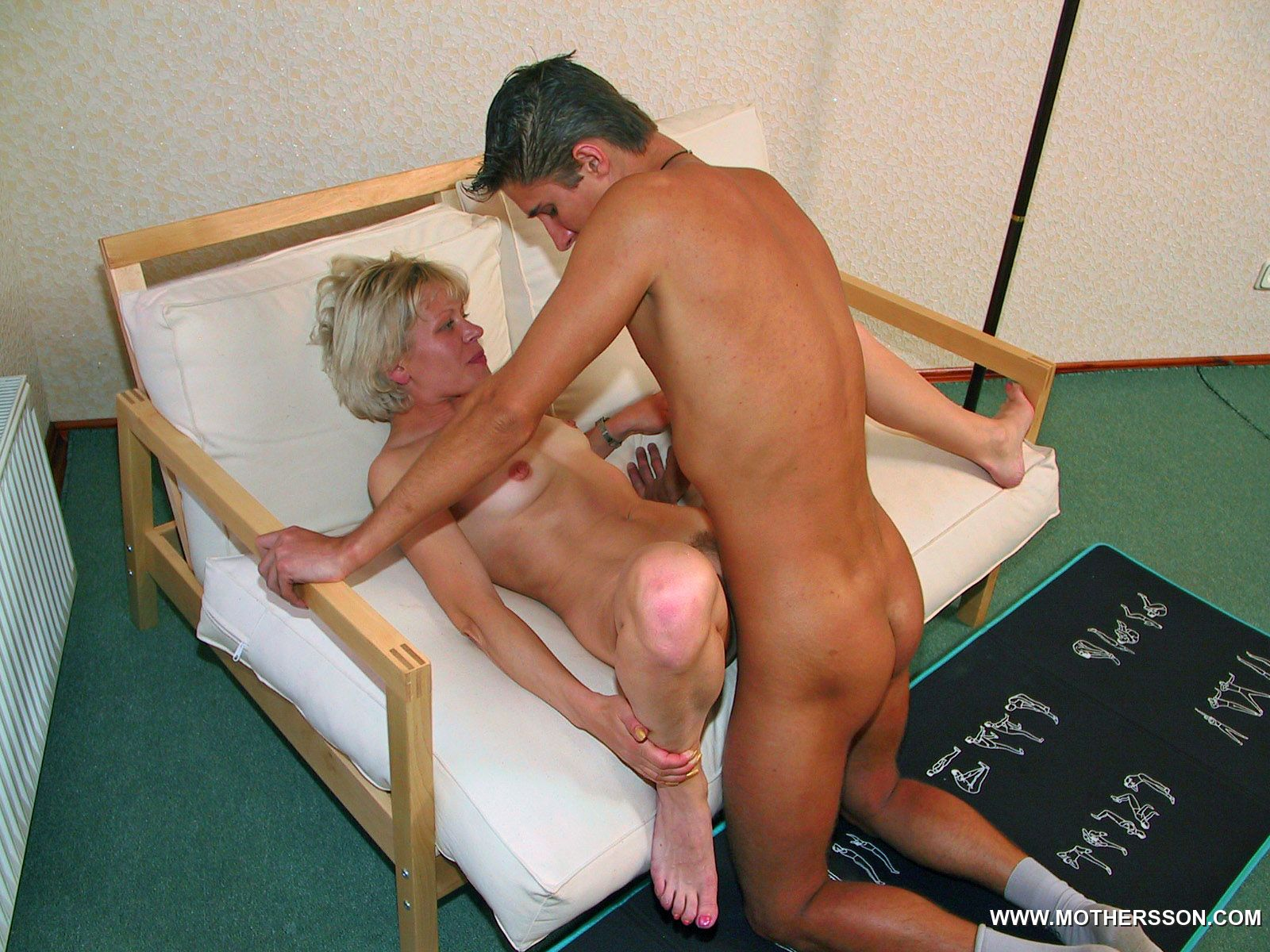 Hot Mother Eagerly Pleases The Pulsating Spike Of Her Sonny-8037