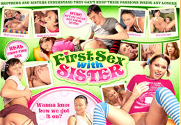 Teen sister incest to sister