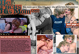 Moms and son sex