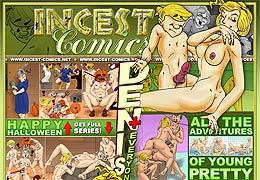 Bandes dessinées Art Incest