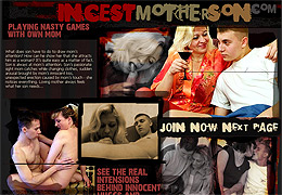 Taboo incest mom and son